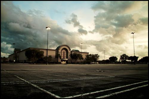 Abandoned West Palm Beach Mall