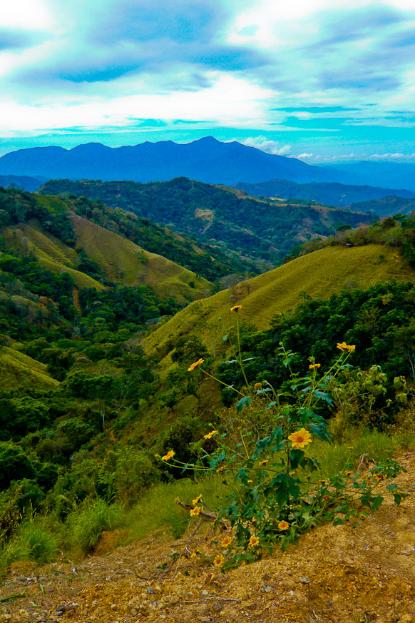 Steep Mountains of Costa Rican Wild