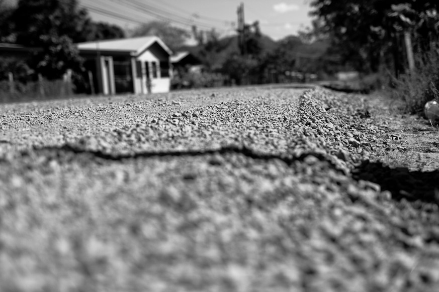 Gravel Roads in Portrero