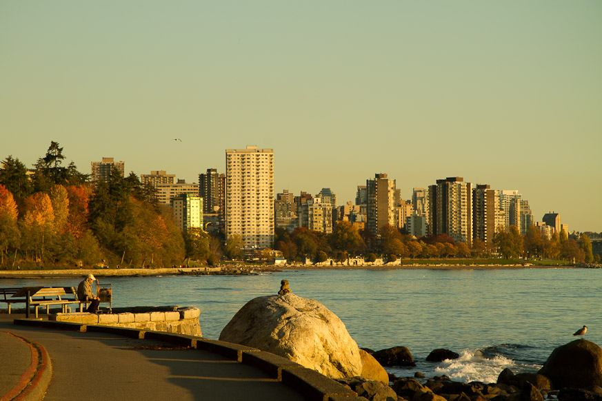 Vancouver Seawall, October