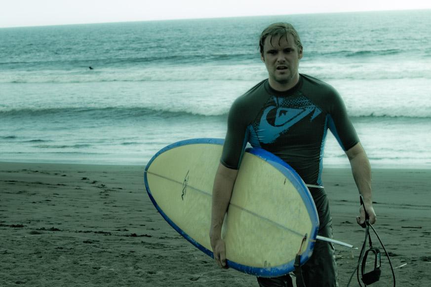Travis Surfing Playa Hermosa